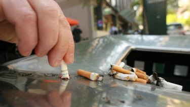 From Monday, it will be against the law to smoke in any outdoor area where food is served or consumed.