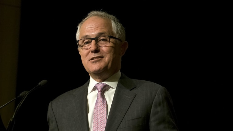 "Prime Minister Malcolm Turnbull "" a breath of fresh air""."