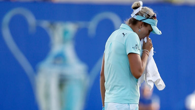 Lexi Thompson was penalised after a viewer spotted an infraction.