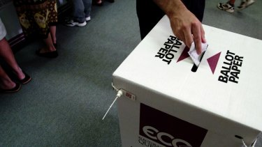 "The AEC's handling of the 2013 election was described as a ""disaster""."