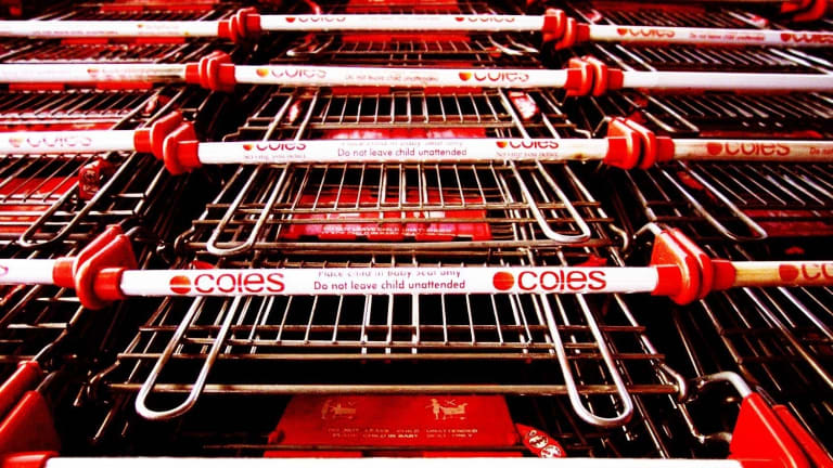 Up to 60 per cent of Coles workers would be better off if they were paid minimum award rates, the Fair Work Commission has heard.