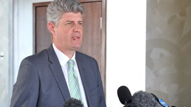 Minister for Transport Stirling Hinchliffe would not back the job security of Queensland Rail's chief executive.