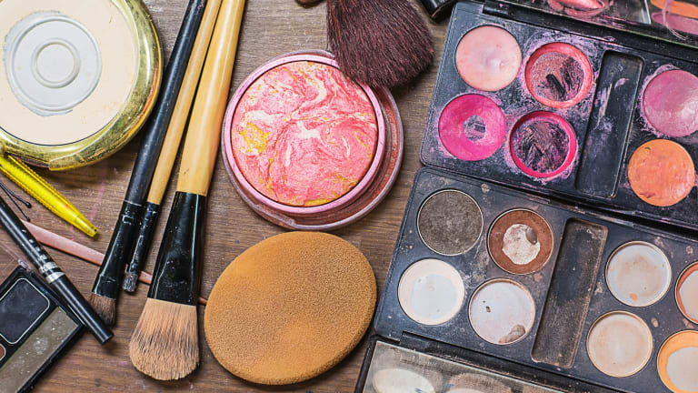 It doesn't matter if your make-up has seen better days ... taking it to your appointment will give the artist a good overview of your current routine.
