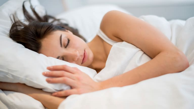 """""""We think that sleep is like a tap, you can just turn it on or off - but it's not like that at all,"""" sleep psychologist Professor Dorothy Bruck says."""