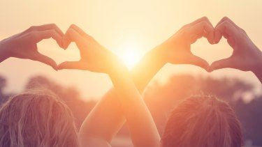 Golden glow: Sunshine can help us feel happier.