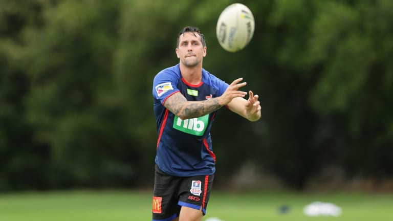 Mitchell Pearce hopes Newcastle fans can be even more patient.