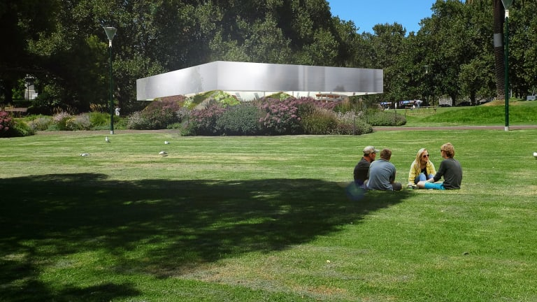Rem Koolhaas and David Gianotten's design for the 2017 MPavilion.