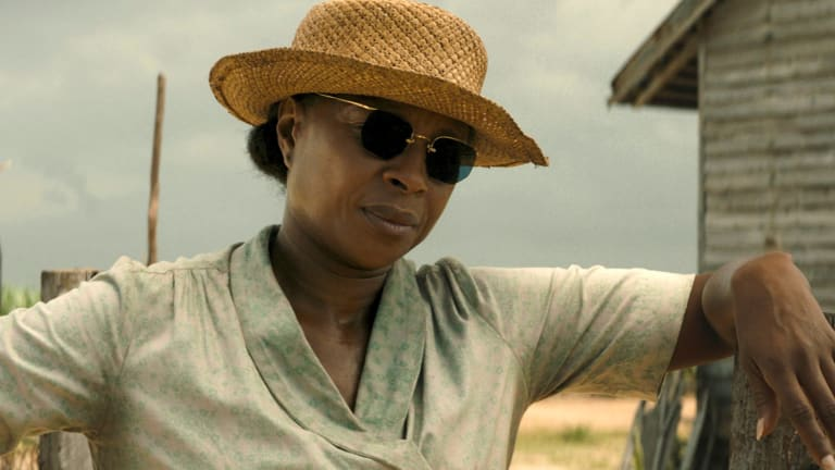 Mary J. Blige in a scene from Mudbound.