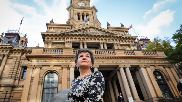 Christiana Figueres, the former UN climate chief, during a recent visit to Sydney.
