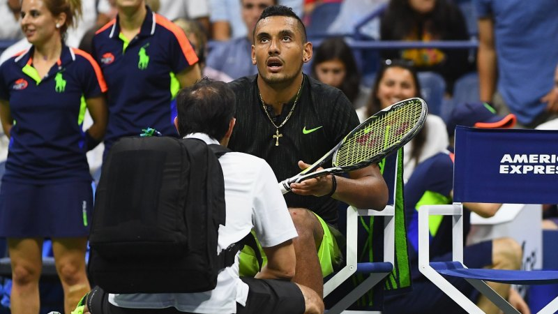 US Open 2016: John McEnroe dares Nick Kyrgios to quit game