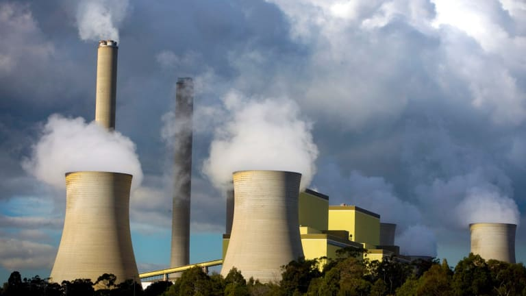 Loy Yang Power stations A and B in Victoria's Latrobe Valley.