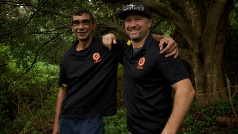 """""""It was always a battle between the two of us"""": Tim Ella and Grant Hyde."""