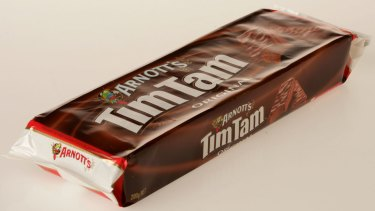 Arnott's cut supplies of Tim Tams to Coles in October.