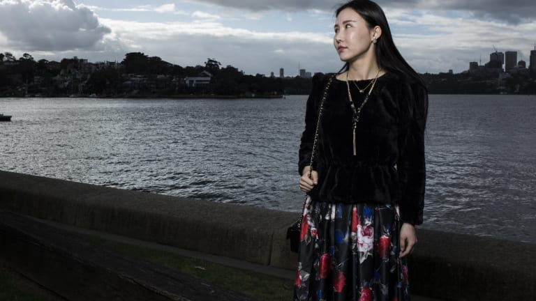 Helena Chen's eyelids have been left scarred and damaged after an alleged unregistered practitioner performed surgery in her bedroom.