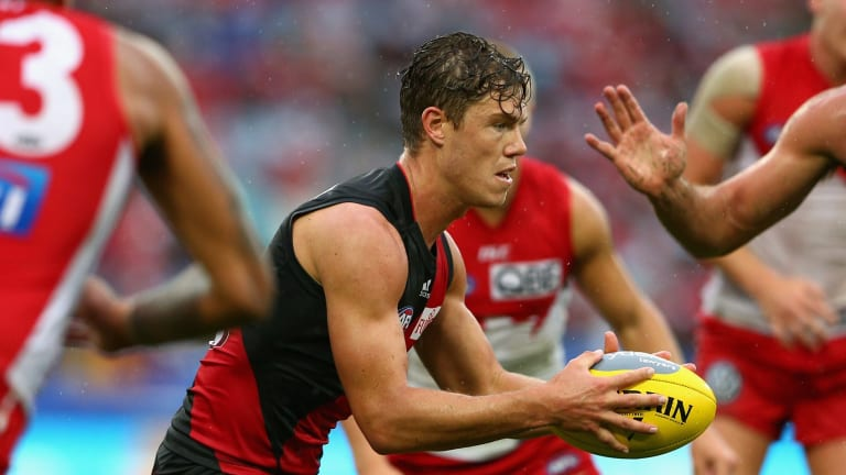 Ruled out: Jake Melksham suffered a hamstring injury and won't play against Melbourne on Saturday.