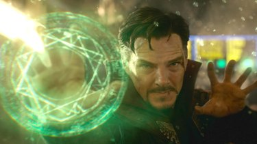 In film, Doctor Strange is a wealthy neurosurgeon who loses the use of his hands in a car crash and who, in his quest to regain their function, gains the mystical powers that make him a superhero.