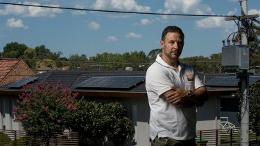 Solar panel installer John Alberti has said shoddy operators are destroying the industry.