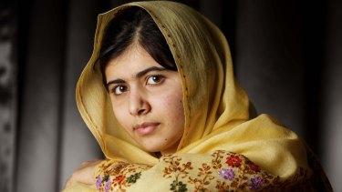 The bravest girl in the world: Malala Yousafzai.