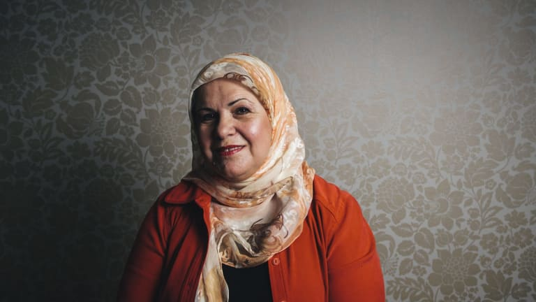 Chair of the Canberra Multicultural Community Forum, Diana Abdel-Rahman.