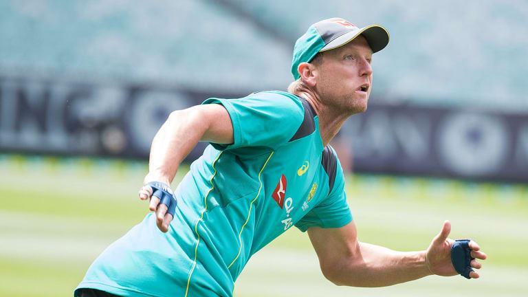 Cameron White, given an unexpected chance to return to the ODI fold, trains at the MCG.