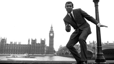 George Lazenby as James Bond in <i>On Her Majesty's Secret Service</i>.