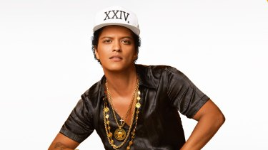 Bruno Mars: works damn hard without raising a sweat.