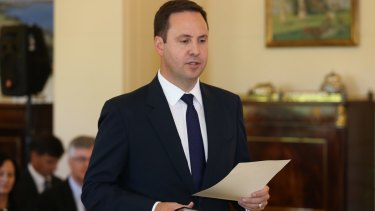 """Australia's Trade Minister Steve Ciobo pushed to """"launch a process to assess options"""" to bring the TPP into force."""