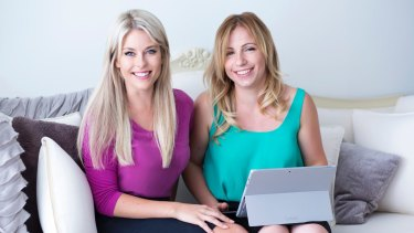 Diverse City Careers co-founders Gemma Lloyd (left) and Valeria Ignatieva struggled to attract investment for their business, which is set to double its revenue next financial year.
