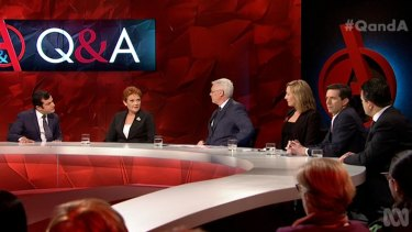 Senator-elect Hanson and Senator Waters have already crossed paths on the ABC's Q&A program.