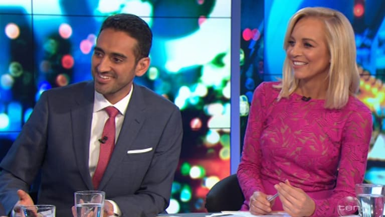 The Project is hosted by Waleed Aly and Carrie Bickmore.
