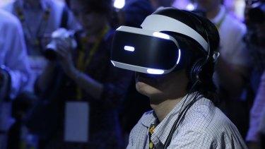 Sony's PlayStation VR.