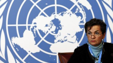 Christiana Figueres, executive secretary of the United Nations Framework Convention on Climate Change, in February.