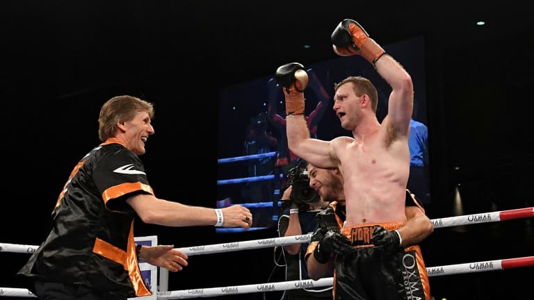 """Big plans: """"We want the big fights. If we're going to fight him, we may as well fight him while Jeff's in his prime"""":"""