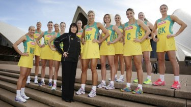 Forever, for now: Australian Diamonds World Cup Team after selection in June.