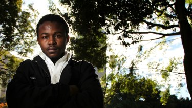 Arrested and strip-searched: Musa Konneh was wrongfully detained for one night.