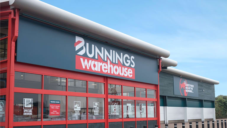 The demise of Masters continues to boost Bunnings.