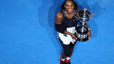 Serena Williams has eclipsed Steffi Graf's record.