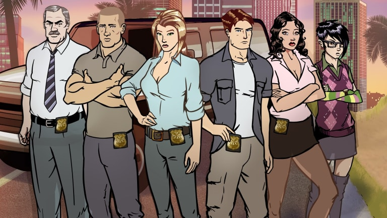 New animated series from Working Dog ... <i>Pacific Heat</i>.