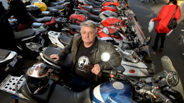 Damian Codognotto from the Independent Riders Group. Motorbikes are to be given more parking spots in the city.