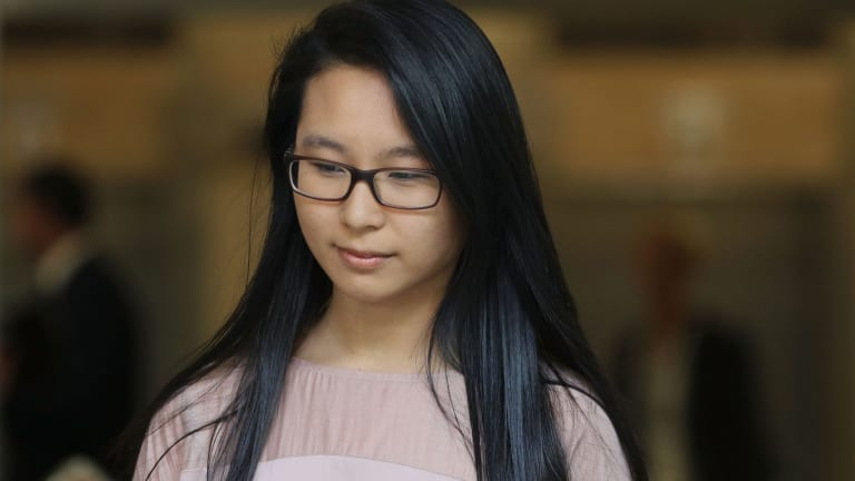 Fiona Ma leaves the Lindt cafe siege inquest