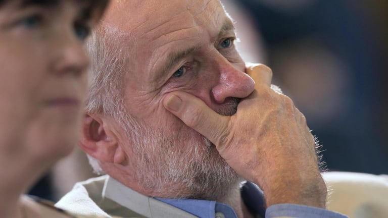 Jeremy Corbyn says he will refuse any attempt to oust him.