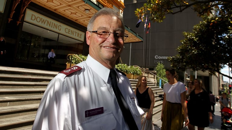 """Andrew Schofield believes """"If you don't have empathy, you may as well not start"""" as a Salvation Army chaplain."""