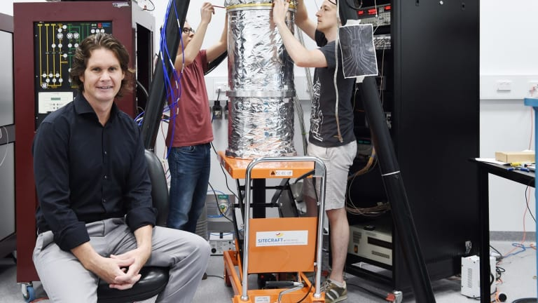 Professor David Reilly is a chief investigator at two ARC centres of excellence for quantum computing.