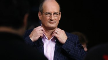 Sunrise host David Koch.