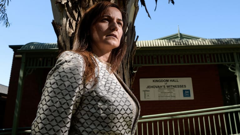 Lara Kaput has started a campaign to apply scrutiny to the Jehovah's Witnesses.