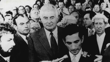 The day Gough Whitlam was dismissed as prime minister, November 11, 1975.