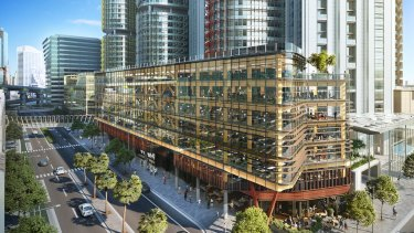 Lendlease wants to build  a second engineered timber office building at Barangaroo South that will offer ground-level retail tenancies and six floors of office space.