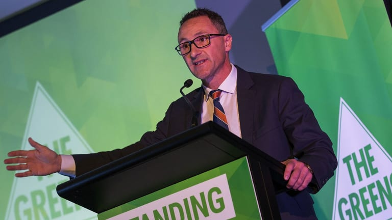 """Greens leader Richard Di Natale says the """"war on drugs"""" has failed."""