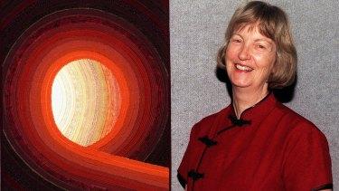 Quilt artist Dianne Firth.