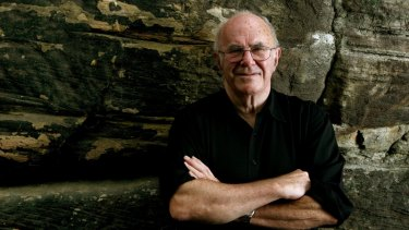 Australian born comedian and author  Clive James.